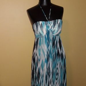 Kenneth Cole Reaction Maxi Sundress/Cover Up Sz S